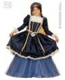WIDMANN 34946 costume dama di corte 5/7 cm 128