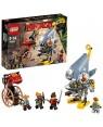 LEGO 70629 lego ninjago attacco del piranha