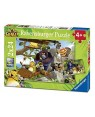 RAVENSBURGER 07805 puzzle 2x24 vdg vita da giungla - in cerca di nuov