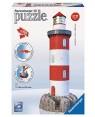 RAVENSBURGER 12565.0 puzzle 3d nuovo faro con roccia