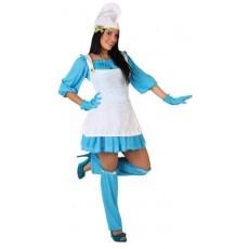 ATOSA 05954 costume puffetta m-l