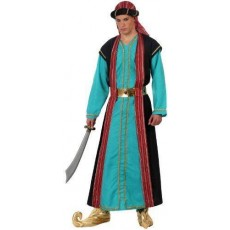 ATOSA 10077 costume sceicco arabo azzurro t-2