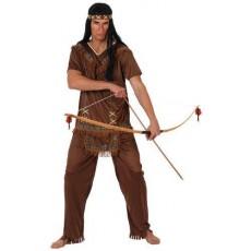 ATOSA 10226 costume indiano pelle rossa marrone t-2