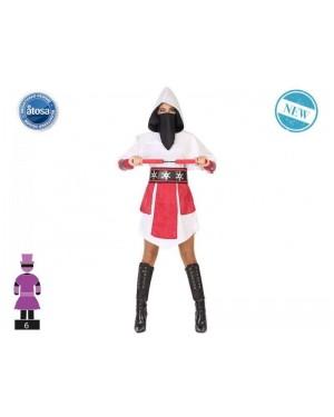 ATOSA 54583 costume ninja t-2