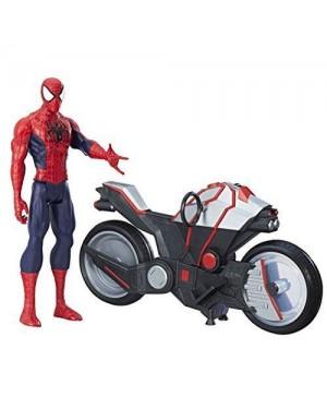 HASBRO b9767eu4 spiderman titan +veicolo