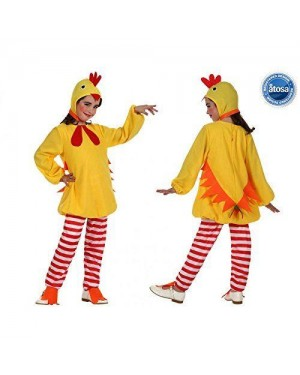 Costume Pulcino Bambina T-4
