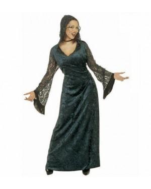 Costume Donna Dark Seducente M In Velluto