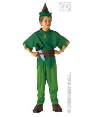 WIDMANN 38067 costume peter pan 8/10 140cm