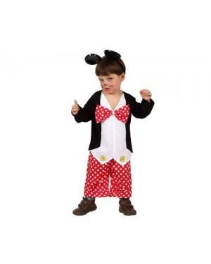 Costume Da Topino 6-12 M