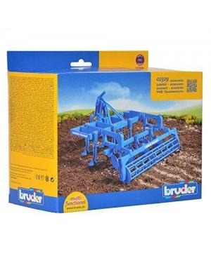 BRUDER 02329 bruder agric access lemken disco coltivatore