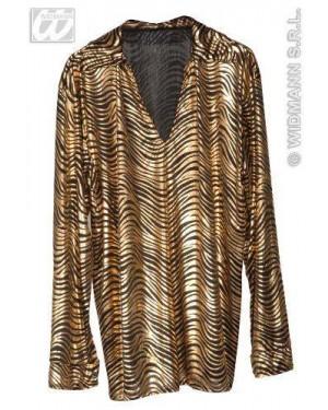 WIDMANN 5802L camicie disco fever lame m ass.oro e argento