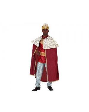 Costume Re Magi Rosso T.2 M/L Gaspare, Melchiorre,