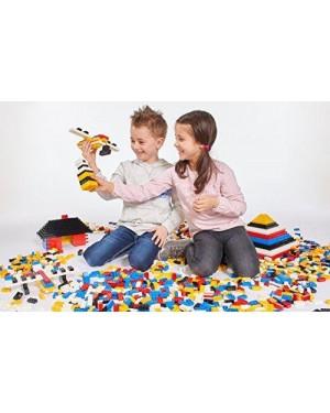 SIMBA 8915 lego blox conf 100pz bianco monocolore