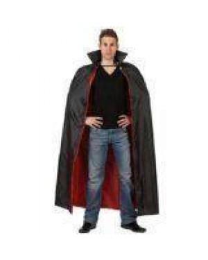 ATOSA 98795 atosa mantello nero/rosso vampiro 143cm