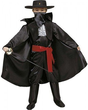 CIAO 10060 costume zorro ninja batman 6/8 tre in uno
