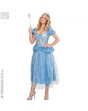 WIDMANN 70401 costume principessa azzurra s