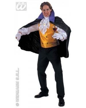 WIDMANN 39493 costume dracula vampiro l senza pantaloni
