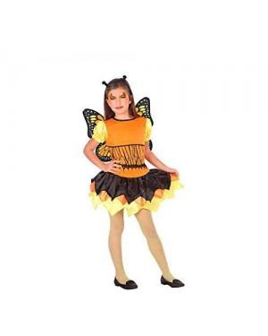 ATOSA 56978 costume farfalla 10-12 arancione