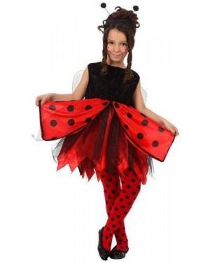 Costume Coccinella T-4 10/12