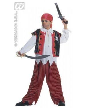 WIDMANN 38478 costume pirata isola del tesoro 11/13 cm158