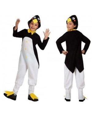 Costume Pinguino 3/4 Anni Flanella