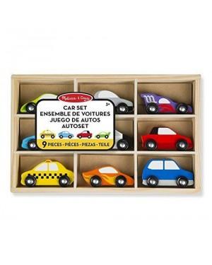 MELISSA E DOUG 13178 melissa cassetta 9 veicoli legno auto