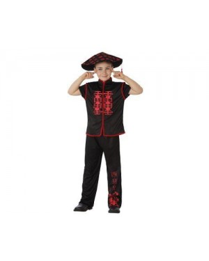 Costume Da Cinese, Bambino T1 3-4 Anni