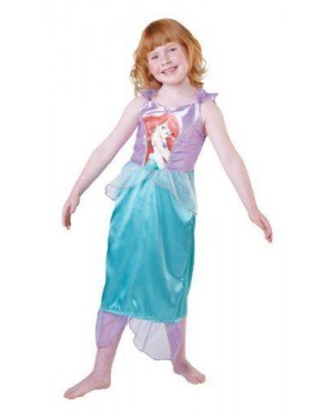 RUBIES 881852S costume ariel classic 3/4 in busta