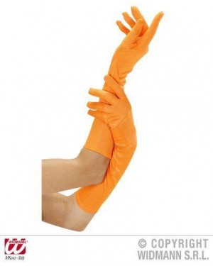 widmann 9501a guanti neon arancione lunghi