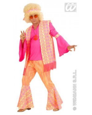 WIDMANN 57753 costume hippie uomo l in tessuto pesante