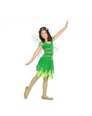 ATOSA 56918 costume fata verde 7-9