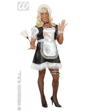 Costume Cameriera Maschio Xl Vestito-Grembiule