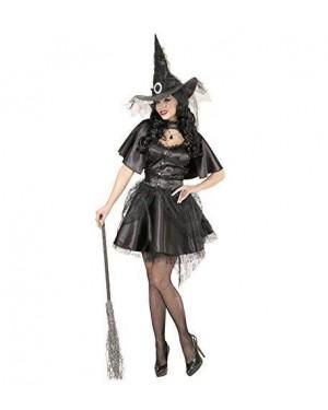 WIDMANN 06311 costume strega vestito s mantellina, cappello