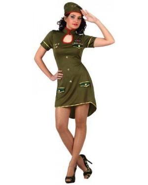 Costume Militare Donna Al Mando T-2