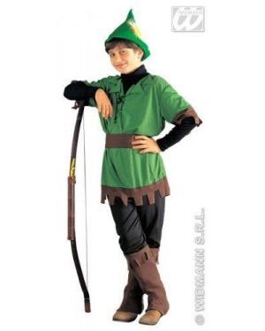 WIDMANN 38367 costume robin hood 8/10 cm 140