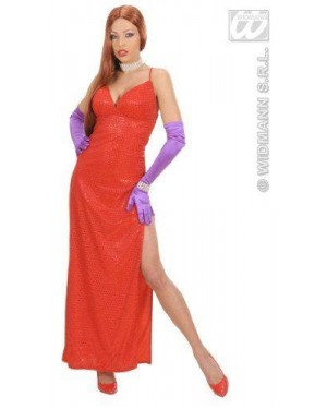 Costume Jessica Rabbit M Femme Fatale