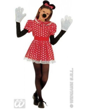 Costume Topolina 11/13 Cm 158