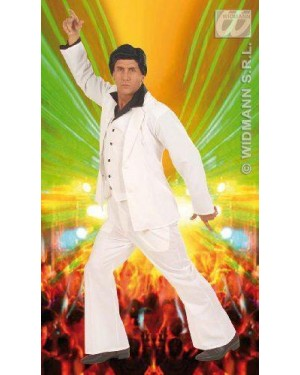 Costume Disco Fever L In Tessuto Pesante