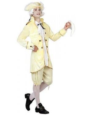 Costume Da Cortigiano T.2 M/L Con Cappello