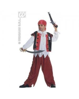 WIDMANN 38476 costume pirata isola del tesoro 5/7 cm128