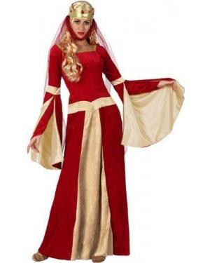 ATOSA 15436 costume dama medioevale tg 2 m