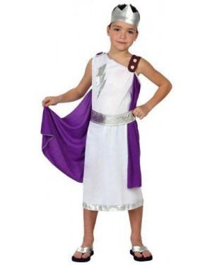 Costume Romano Tg 3 7/9 Anni