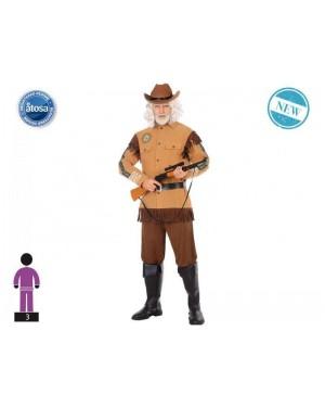 ATOSA 56511 costume esploratore t-3 cowboy buffalo