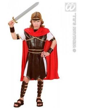 Costume Ercole 128Cm Tunica Con Armatura,Cintura,