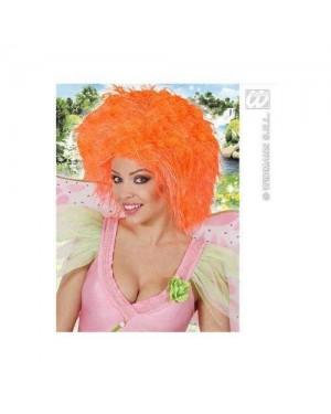 WIDMANN 6392A parrucche fatina arancione fluorescente