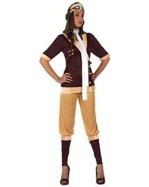 Costume Pilota D'Epoca Donna T-2