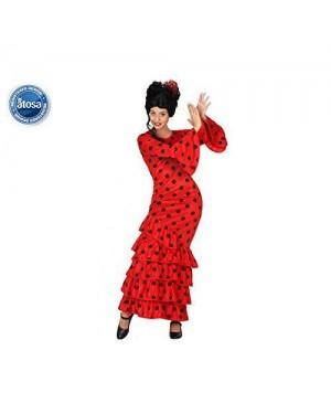 Costume Flamenca Rosso Adulto T2 M\L