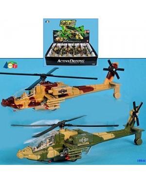 GINMAR 10844 elicottero c/luci/suoni a retro cm20