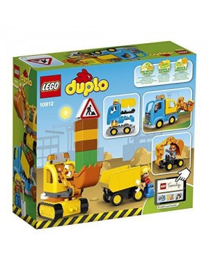 LEGO 10812 lego duplo town camion e scavatrice cingolata