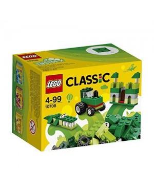 LEGO 10708 lego classic scatola creativita verde